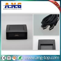 Buy cheap FDX-B 134.2KHz animal microchip tag RFID desktop LF reader with USB from wholesalers