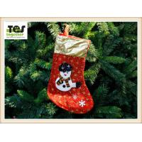 Cheap non-woven big size christmas sock decoration/OEM O ODM for sale