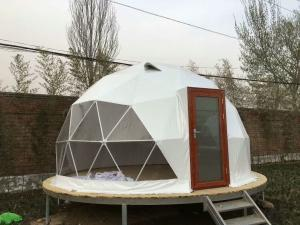 Cheap Transparent Luxury Steel Camping 5M Geodesic Dome Tent for sale