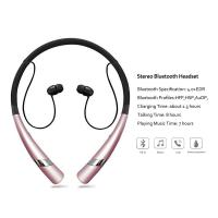 Cheap Bluetooth Headset HV-960 Wireless Bluetooth Headphones Earbuds with Flexible Neckband wholesale