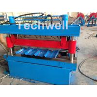 Cheap Roof / Wall Panel Double Deck Roll Forming Machine , Double Layer Roll Former for sale