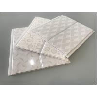 Cheap White PVC Cladding Waterproof Wall Board Panels 20cm / 8 Inch OEM Service for sale