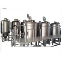 Semi Automatic Nano Brewery Equipment SUS 316L 2 BBL Brewing System