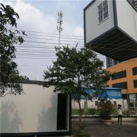 Cheap fast assembly customize 20ft eps sandwich panel container house for 10 workers for sale
