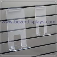 Cheap Clear Acrylic Face Out Book Shelf for Slatwall for sale