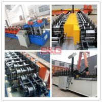 Used Z Purlin Roll Forming Curb Half Round Seamless Gutter Machine,