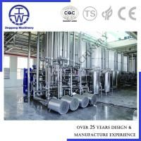 Cheap Dairy Ice Cream Production Clean In Place System , Clean In Place Equipment PU Insulation for sale