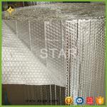 Cheap aluminum thermal reflective bubble foil heat insulation for sale