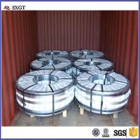 Cheap galvanized steel strips in coil / Black Steel Metal Strapping / Steel Packing Strip for sale
