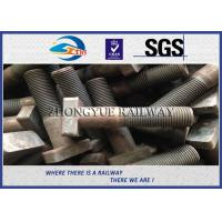 Quality Q235 35# Fastener Railway Bolt Standard Bolts And T-Shaped Fasteners wholesale