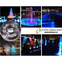 Cheap RGB 9W / 27W LED Underwater Fountain Lamp ,RF Controller  LED Underwater Pond Lights wholesale