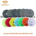 Cheap Colorful Shine Light Stone Floor Resin Dry Polishing Pucks Discs for sale