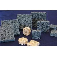 Cheap Efficient Silicon Carbide Alumina Ceramic Foam Filter For Metal / Casting for sale