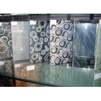 Cheap Clear Tempered Silkscreen Printed Glass 5mm 6mm 8mm For Transom Window for sale
