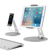China Portable Adjustable Stand Holder Alarm Display Stand For 4'' - 14'' IPad Phones on sale