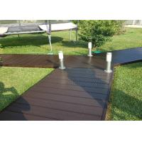 Cheap Hollow Wood Plastic Composite Products Corrosion Resistance Eco - Friendly for sale