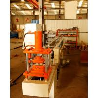Cheap 75mm Roller Shutter Door Roll Forming Machine With Punched Hole Or Punched Slot for sale