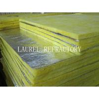 Cheap Glass Wool Blanket Refractory Insulation Materials / Fiberglass Wool Roll Thermal Roof Building Materials for sale