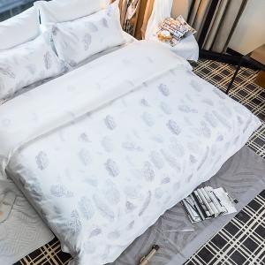 China Printed Duvet Linen Duvet Cover , King Size Duvet Cover Customized Colors on sale