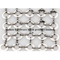 China Stainless Steel Chainmail Ring Decorative Wire Mesh for Fly Screen Curtain on sale
