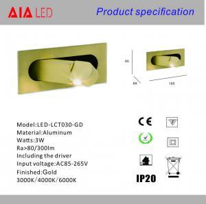Quality Adjustable beam angle led headboard wall lamp/hotel led reading light/led wholesale