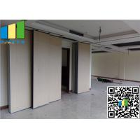 Cheap Movable Exhibition Partition Walls Sliding Folding Made By Melamine for sale