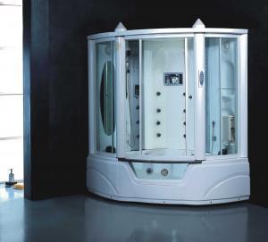 China Black colour steam shower room K065 on sale
