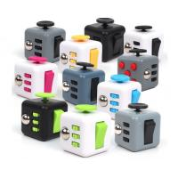 EDC New ABS colors Fidget cube, decompression fidget cube toys factory price free shipping