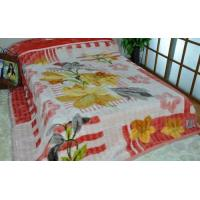 Cheap Red Adults Travel 100% Polyester Original Blanket With Double Printed wholesale
