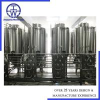 Cheap Thickness  3 Mm Ss Fermentation Tanks , Stainless Fermentation Tank 1500L / 15bbl for sale