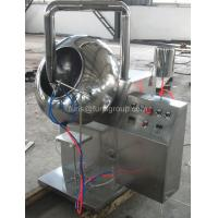 China 20 Kg / H Capacity Chocolate Tablet Coating Machine Adjustable With Spray on sale