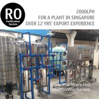 Cheap 2TPH Singapore Ordered Commercial RO Water Filtration System for sale