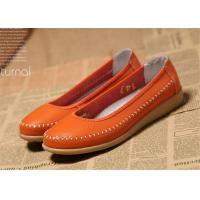 China Ladies Flats Soft Comfortable Casual Shoes Flat Shoes Women Natural Leather on sale