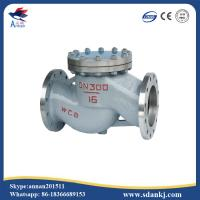 Cheap High quality flanged swing GB lift stainless steel water check valve with low price for sale