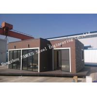Cheap European Style Modular Prefab Container House For Accommodation , Quick Assembly for sale