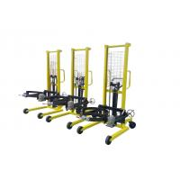 Cheap manual stackers with wide leg more competitive price compare to electric forklift for sale