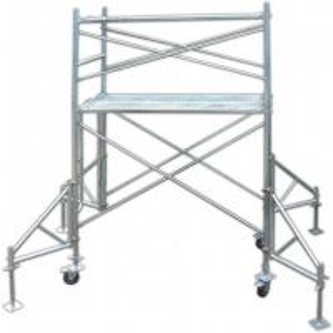Cheap Industrial Q235 Door Tubular Steel Frame Scaffolding Temporary Heavy Load Capacity for sale