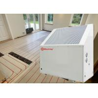China 12KW White Galvanized Sheet ≤40Db Air To Water Heat Pump With Floor Pipes Heating System on sale