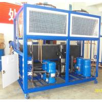 Cheap Stainless Steel Industrial Air Chillers With 10HP To 100 HP for sale