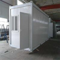 Cheap eps sandwich panel 20ft living container house with a bedroom and bath for sale