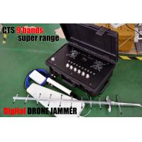 Cheap Digital Directional Drone Jammer For 310-470Mhz 800MHZ 900mHZ Gps & Glonass for sale