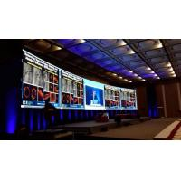 Cheap Permanent Indoor Led Video Wall Screen 16 Bits 1080P 3 MM Pixel Pitch for sale