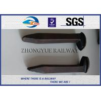 Quality AREMA Standard Railroad Spike Types Dog Spike & Screw Spike Rail Fasteners wholesale