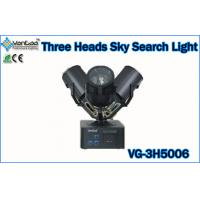 Cheap 3 Heads IP54 Colors Changeable Beam Outdoor Searchlight for Outdoor Stage Lighting Equipment for sale