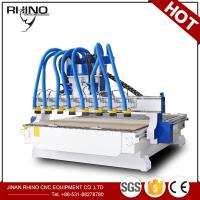 Cheap 8 Heads Woodworking CNC Router Machine 380V 3 Phase Type CE Approval for sale