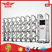 Cheap Single track motor operated swing stainless steel gate--J1430 for sale