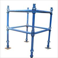 Cheap HDG / Paint Finish, Caster Wheel Cantilever Mobile Scaffolding Cuplock for sale