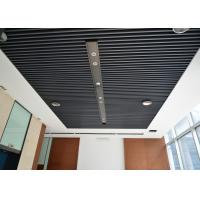 Cheap Fireproof, Waterproof,  Aluminum Alloy Square Tube  Screen Ceiling Tiles Artist Ceilings wholesale