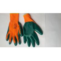 Cheap Nitrile Coated Safety Work Glove,Nitrile latex Coated/nylon gloves/bleached cotton gloves for sale