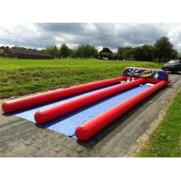 Cheap Outdoor Inflatable Human Bowling Game Inflatable Bowling Alley With Zorb Ball for sale